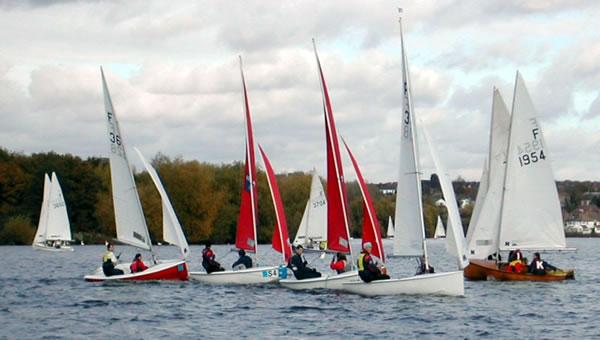 Welsh Harp Sailing