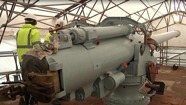 HMS M33 Gun