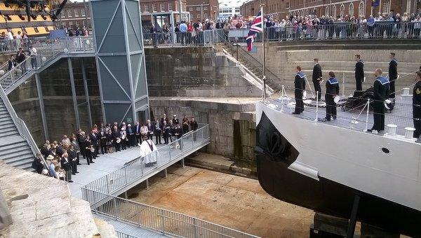 HMS M33 Unveiling