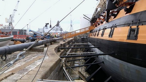 HMS Victory Support Props