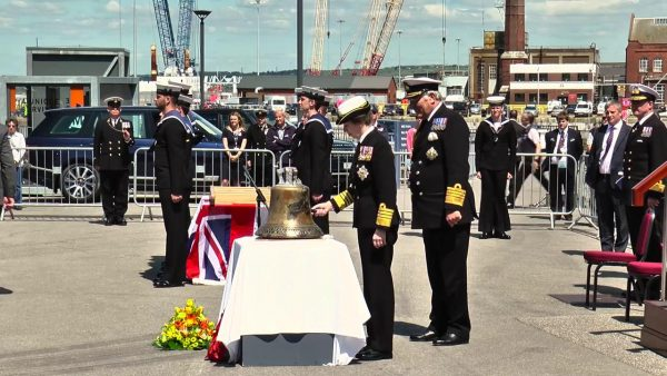 For Years Unseen - HMS Hood's Bell