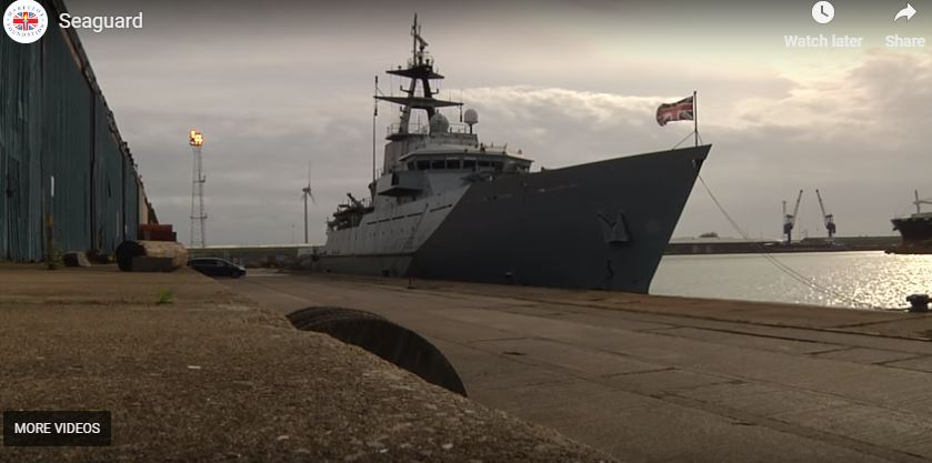 HMS 'Severn'