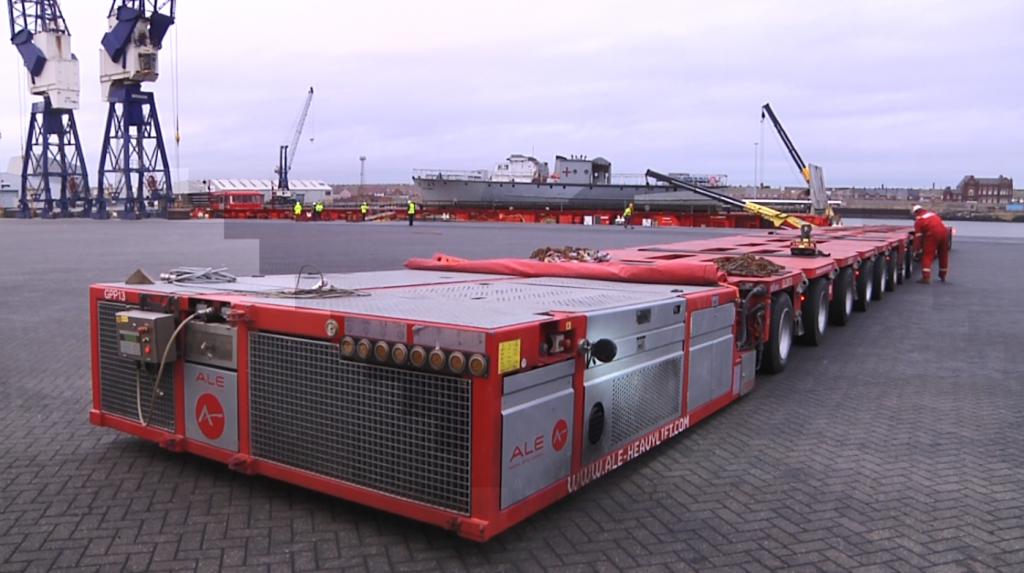 5. RML 497 - road transporter F